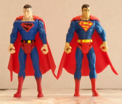 Kingdom Come Superman & Classic Superman
