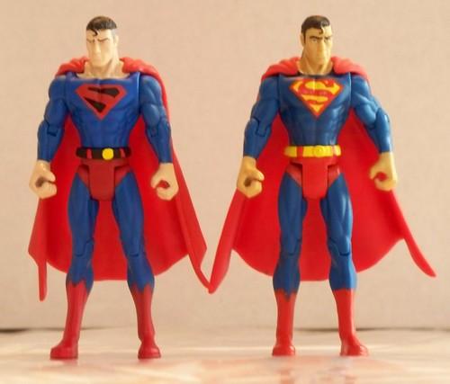 Kingdom Come Superman & Classic Superman