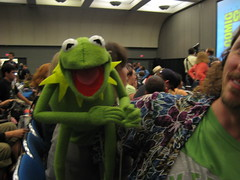 kermit the frog at Comic-Con