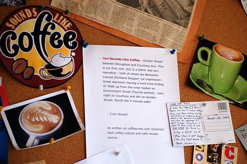 Sounds Like Coffee Bulletin Board
