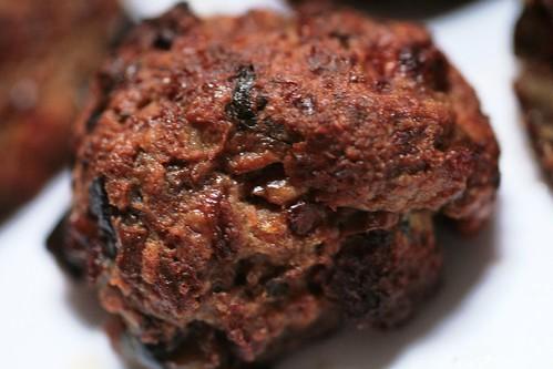 Eggplant meatball