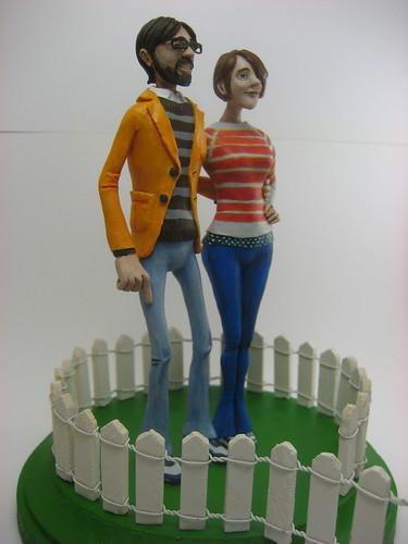 Wedding cake topper by Neven Mrgan.