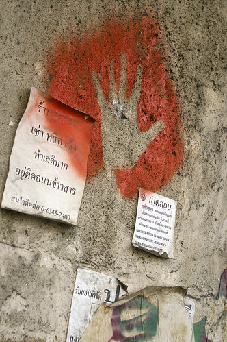 red hand