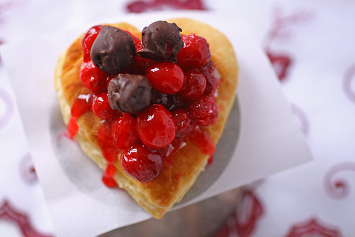 Cranberry Heart Tarts