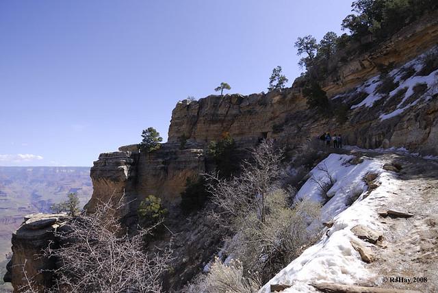 Canyon South Rim - Bright Angel Trail