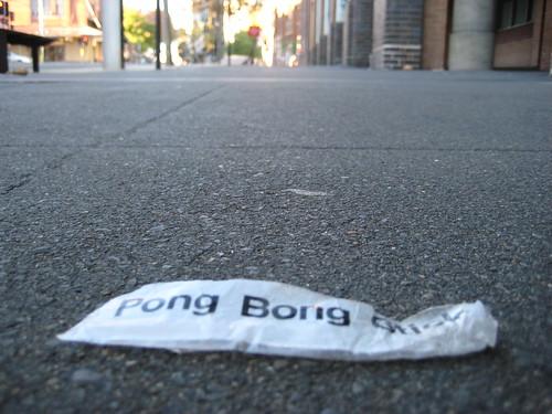 Pong Bong Stick
