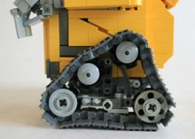 LEGO Wall-E treads on Flickr