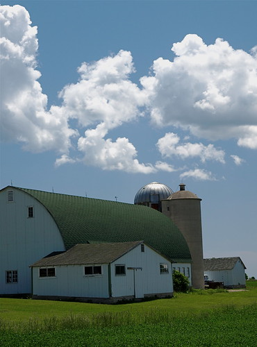 Clouds over Barn