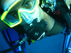 cindi modeling underwater