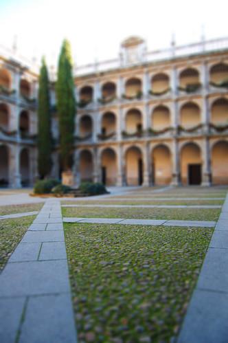 Patio de la universidad de Alcalá