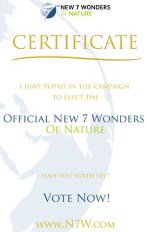 New 7 Wonders of Nature