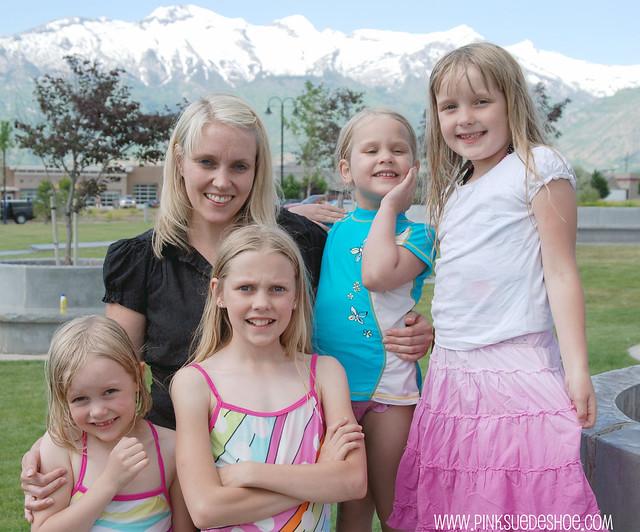 linsey + girls