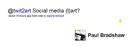 Social media (t)art?