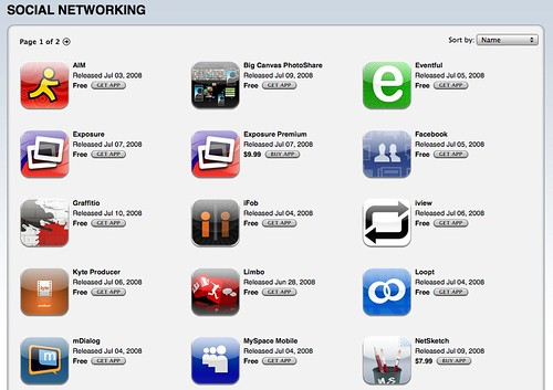 iphone social apps