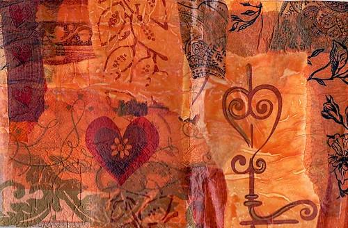 Fabric Paper On Tyvek 6