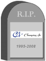 Champion Tombstone