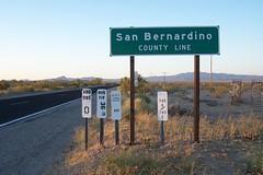San Bernardino County Line