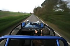 On-car camera test shot - day