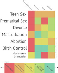 Religious Teachings on Sex Infographic