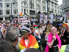 'Rights Without Borders', London Pride 2008.