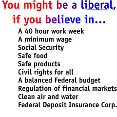 You Might Be A Liberal...