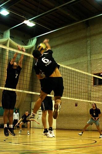 Men's Volleyball vs Manchester, Alexandru Hristea (5)
