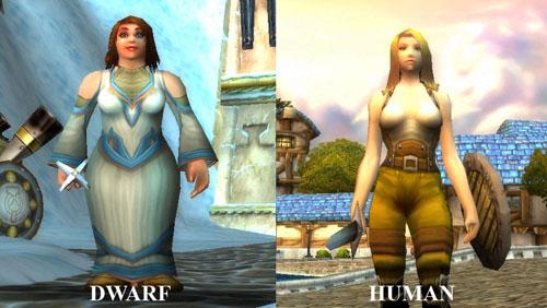 dwarf-human