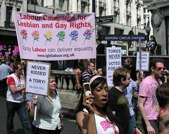 Labour Party, London Pride, 2008