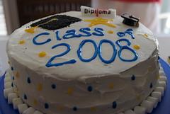 I made graduation cakes