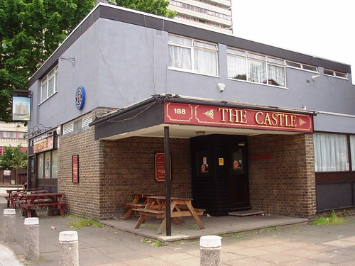 The Castle (Camberwell SE5), now closed
