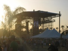 The main stage at the Coachella Valley Music & Arts Festival