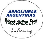 Aerolineas Argentinas Worst Airline In Training