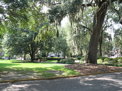 Lafayette Square, Savannah, Georgia, July 2008, photo © 2008 by QuoinMonkey. All rights reserved.