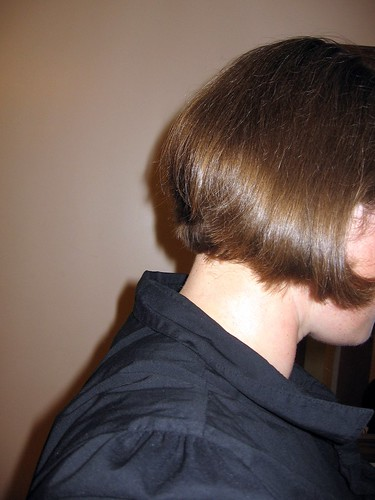 Back of my new hair style