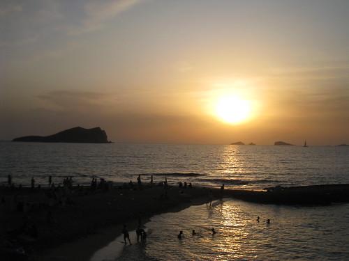 Sunset at Cala Comte
