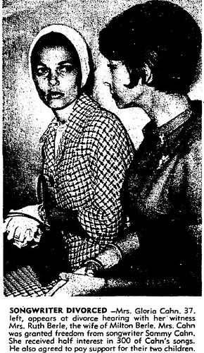 Gloria Bolton and Sammy Cahn 2