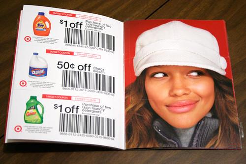 Target coupon book