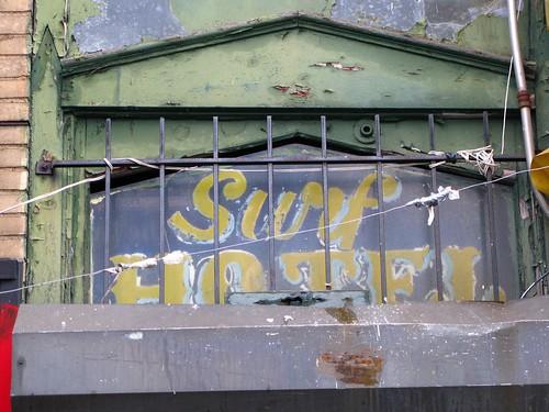 Surf Hotel Signage. December 26, 2008. Photo © Bruce Handy/Pablo 57 via flickr