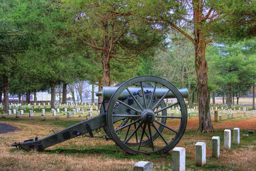 Cannon at Stones River Battlefield