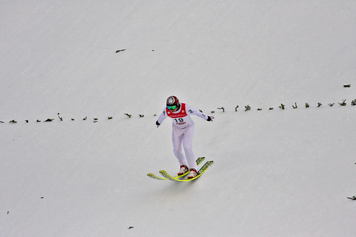 Check out those skis