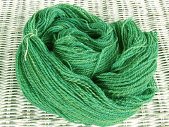 Semi-Solid Green Yarn