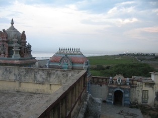 View from Ashtalakshmi temple