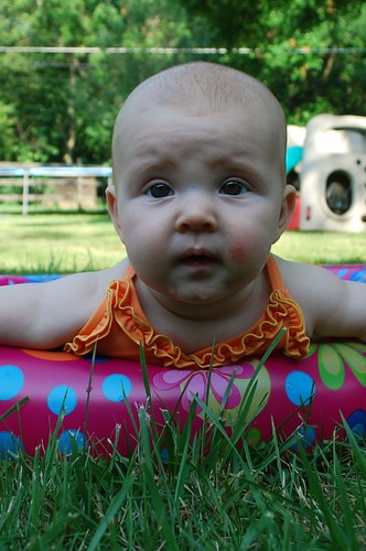 Alyssa Swimming