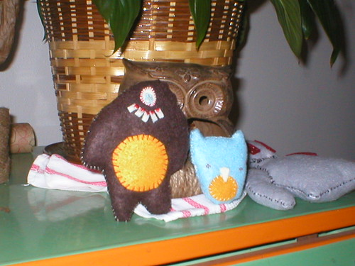 Monster and Owl
