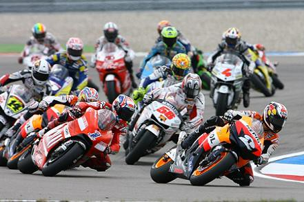MotoGP-first-lap by you.