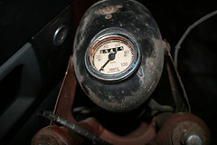 Speedometer and headlight