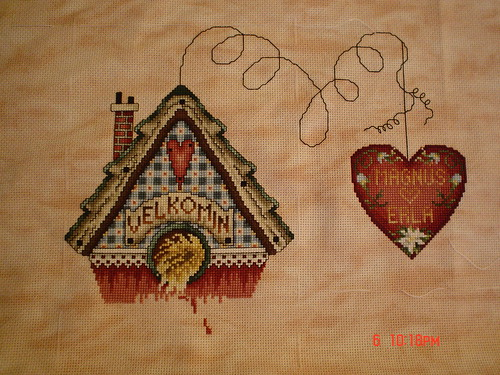 Quilted Hearts Garden
