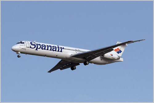 El avión siniestrado unos meses antes
