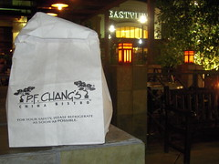Introducing the PF Chang's Doggie Bag!