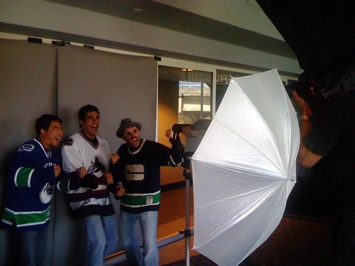 Photoshoot - Dave, Richard and J.J.